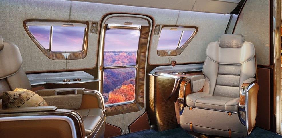 The Most Luxurious Private Jet Interiors Waldorf Astoria Magazine