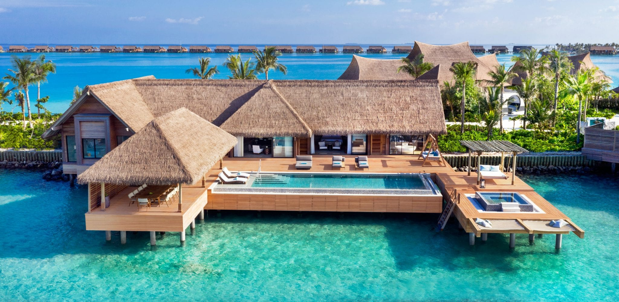 Over-the-reef Villa at Waldorf Astoria Maldives Ithaafushi