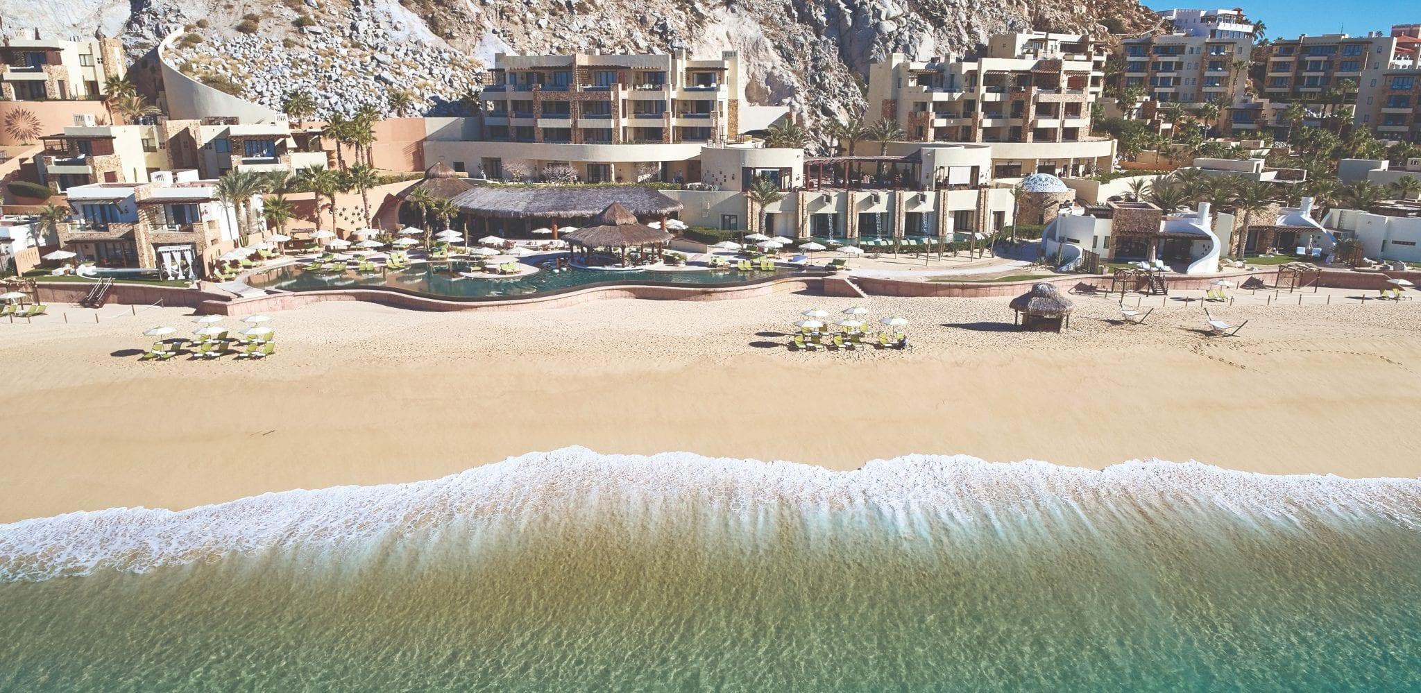 Aerial view of Waldorf Astoria Los Cabos Pedregal