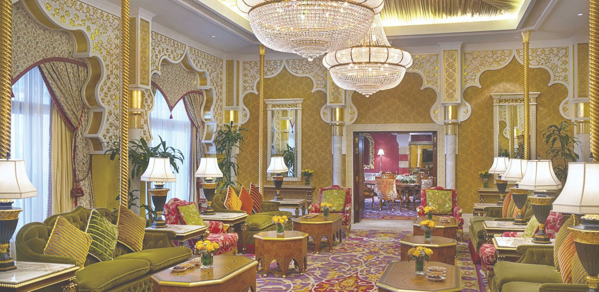 Qasr Al Sharq suite