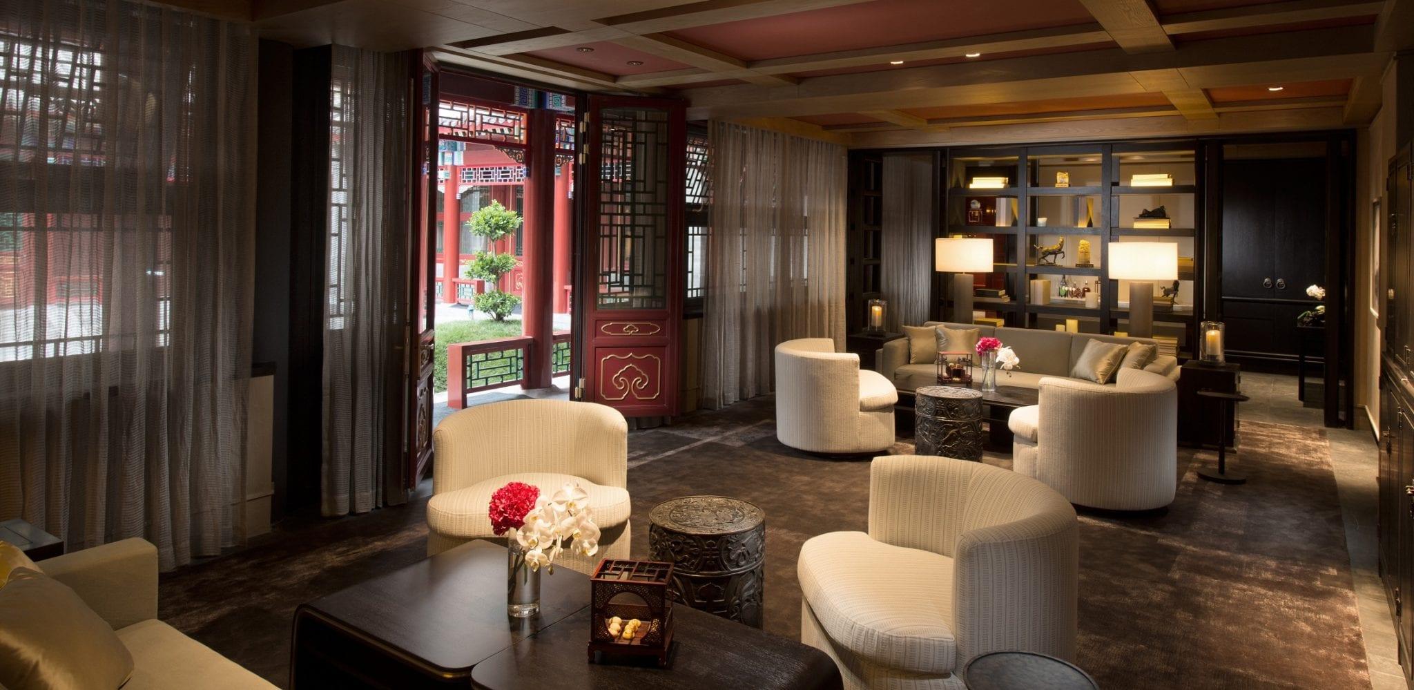 Hutong Courtyard Villa living space
