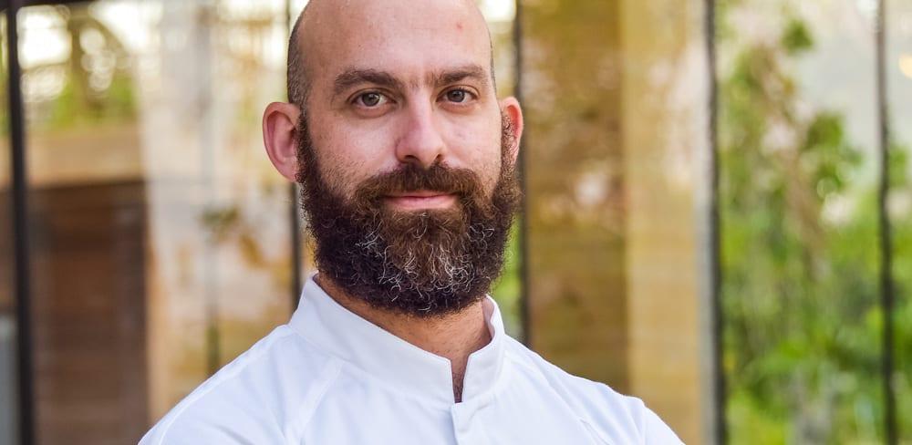 Portrait of Chef Dave Pynt of Waldorf Astoria Maldives Ithaafushi